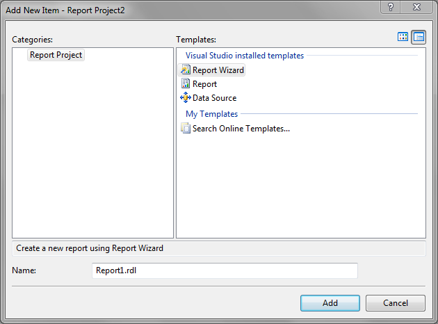 Using your own RDL as a SSRS Template - Steve Stedman