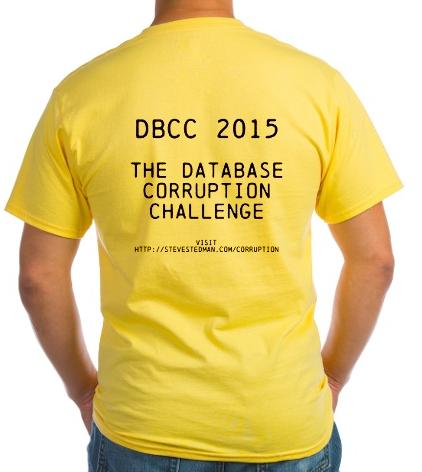 Database Corruption Challenge
