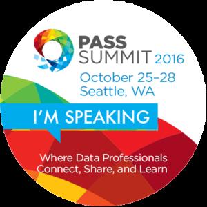 PASS Summit 2016