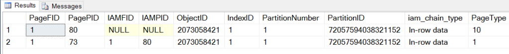 SQL Server Page Split