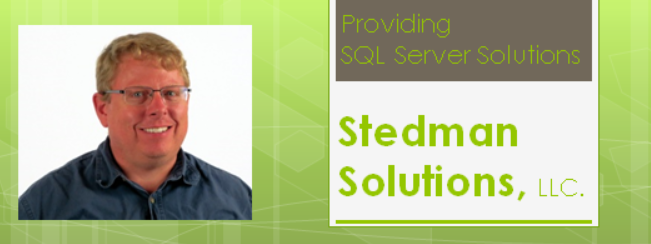 Stedman Solutions for Help with Database Corruption and Performance Tuning