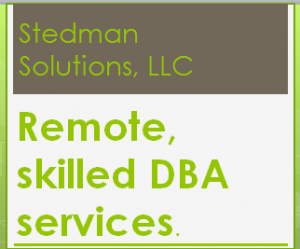 Stedman Solutions Remote Skilled DBA