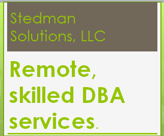 Stedman Solutions Remote Skilled DBA Services