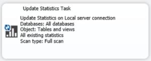 Updating SQL Server Statistics