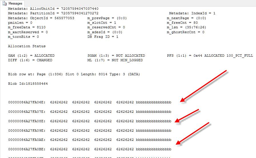 SQL Server Row Data Linking to Off Row Data - Steve Stedman